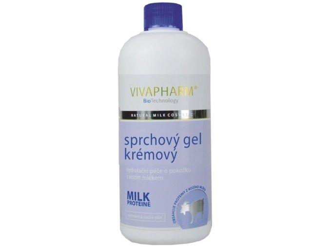 Vivapharm Kozí sprchový gel krémový 400ml
