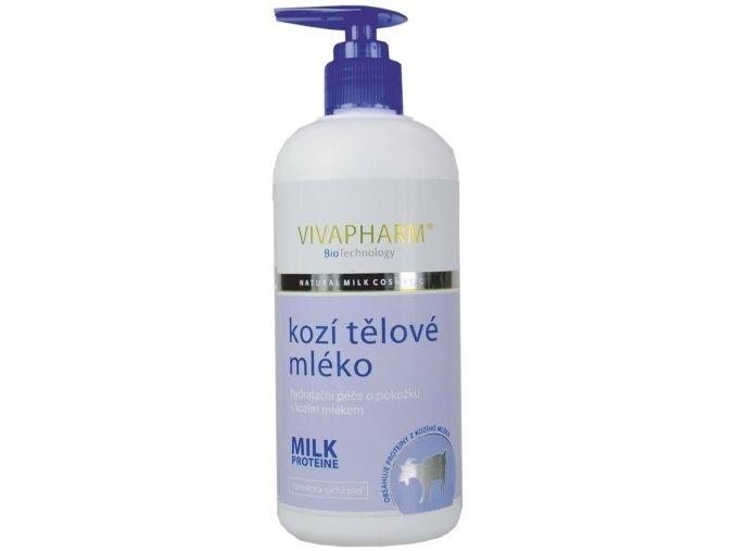 Vivapharm Kozí tělové mléko 400ml