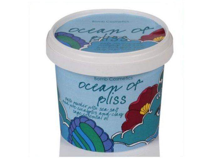 Bomb Cosmetics Koupelový pudr Oceán blaženosti 260g