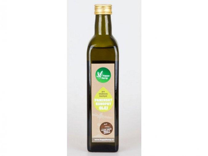 HappyHemp Konopný olej panenský 500ml