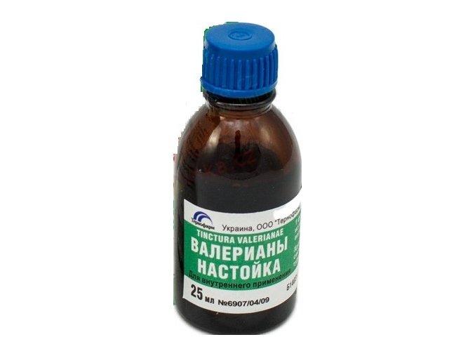 Ruská tradiční bylinná péče Kozlíková tinktura 25ml