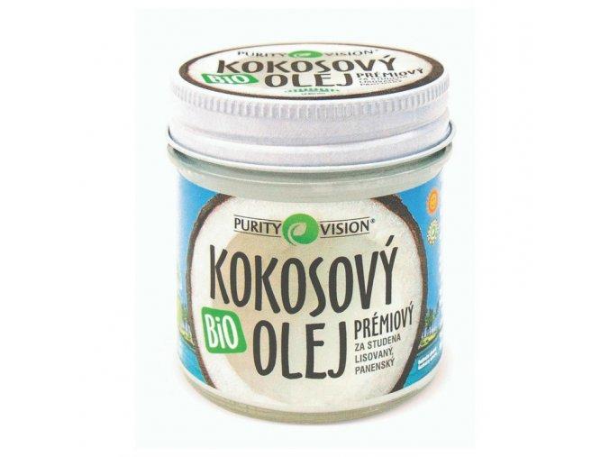 Purity Vision kokosový olej panenský BIO 100ml+20ml Zdarma