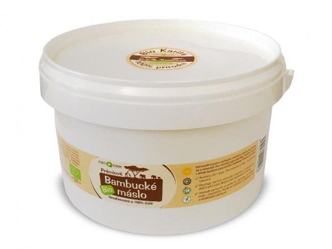 Purity Vision Bio Bambucké máslo 2,5l