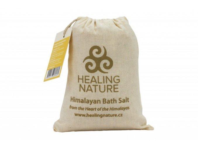 Healing Nature Koupelová sůl s květem heřmánku 1kg
