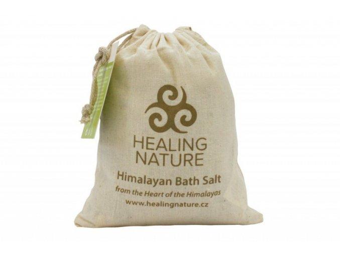 Healing Nature Koupelová sůl s květem meduňky 1kg