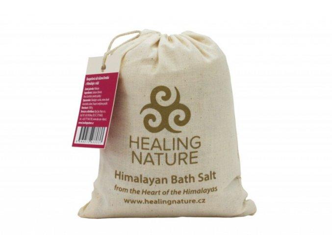 Healing Nature Koupelová sůl s květem růže 1kg