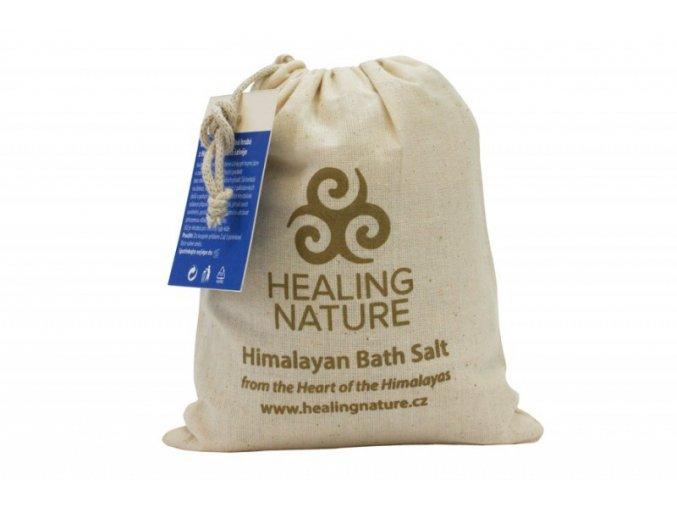Healing Nature Koupelová sůl s květem šalvěje 1kg