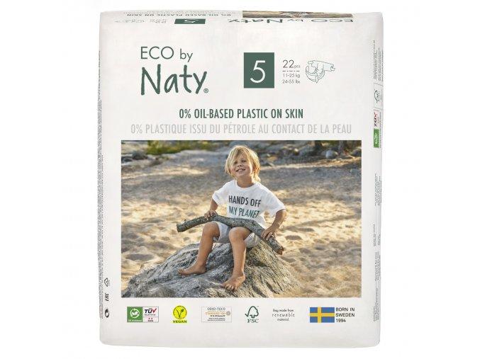 Plenky Naty Nature Babycare Junior 11-25 kg (22 ks)