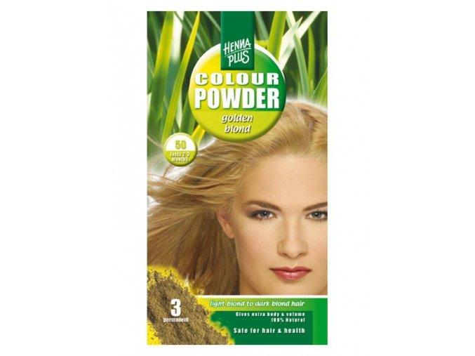 henna zlatá blond
