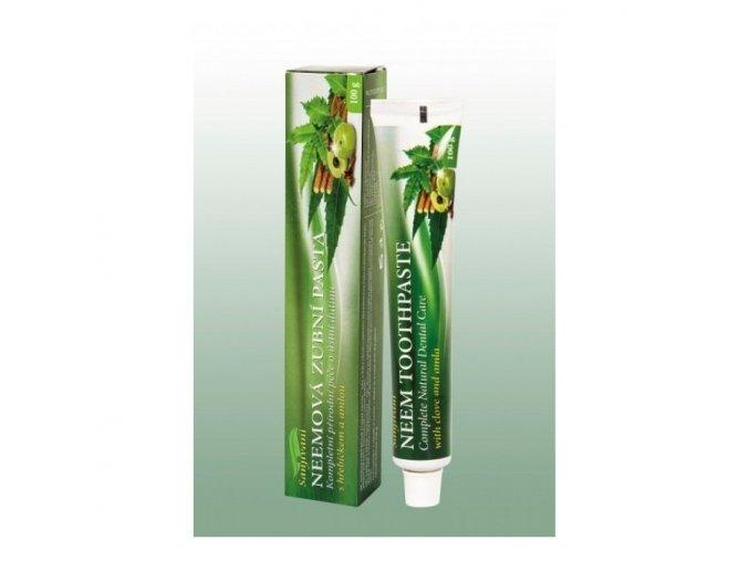 neemova zubni pasta gel s amlou a hrebickem sanjivani 100 ml dnm