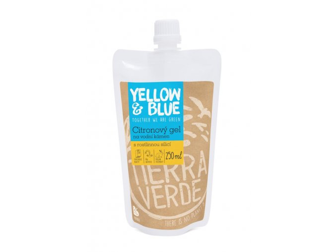 citronovy gel na vodni kamen sacek 250 ml