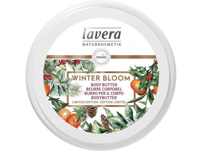 lavera telove maslo zimni kvet 150ml