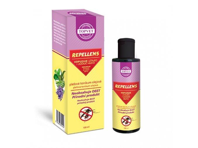 topvet repellens pletove olejove tonikum 100ml
