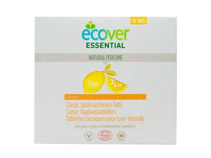 ecover tablety do mycky classic citron ecocert