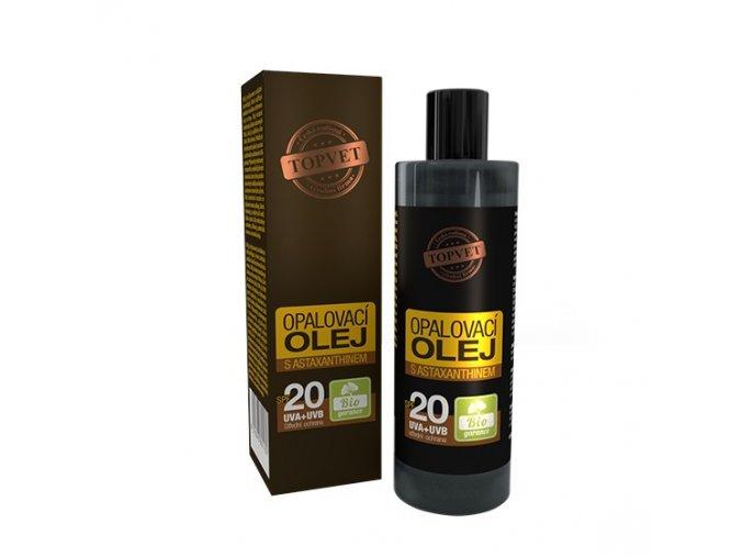 topvet opalovaci olej spf20
