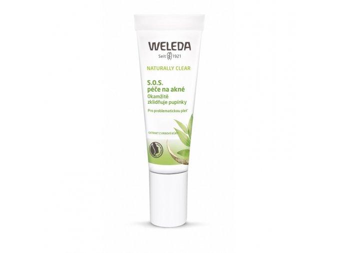 weleda naturally clear sos pece na akne