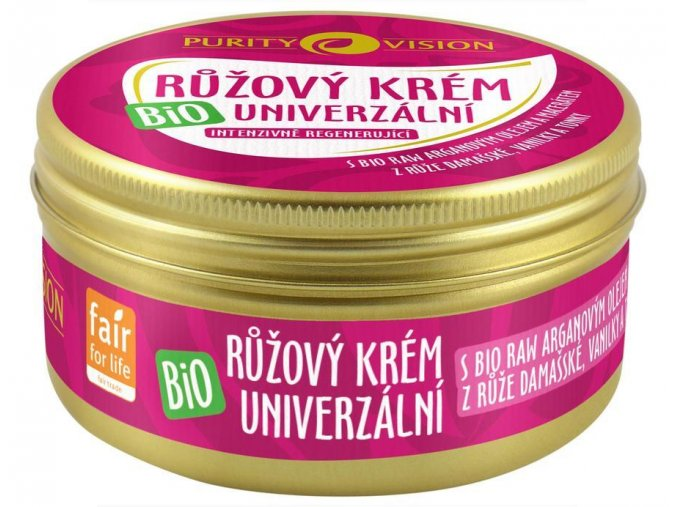 purity vision ryzovy krem univerzalni 70 ml