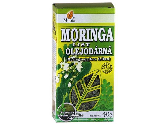 milota moringa olejodarna list 40g