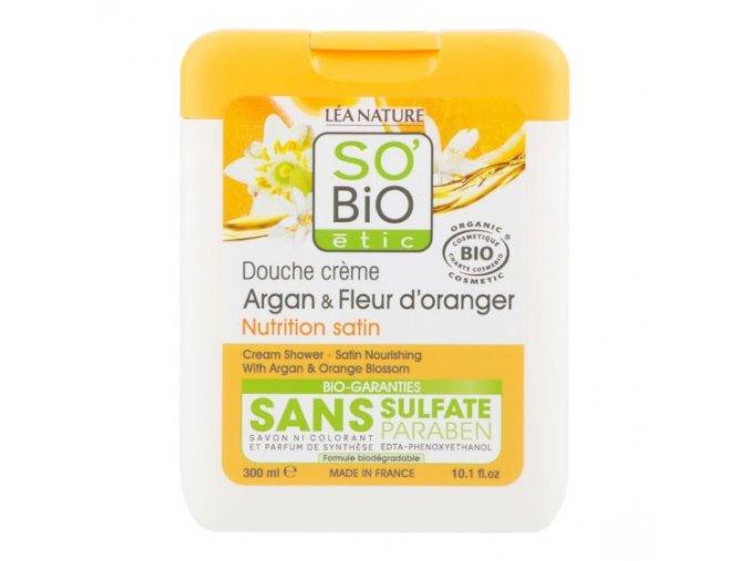 so bio gel sprchovy argan a pomerancove kvety 300ml