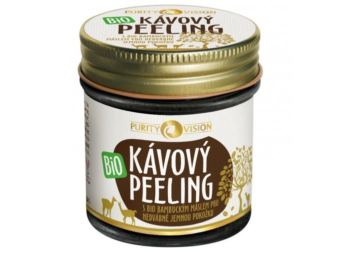 purity vision kavovy peeling 110g