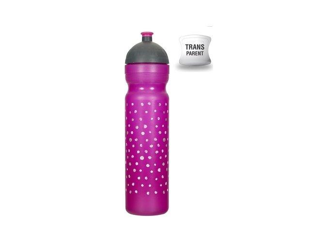 zdrava lahev puntiky 1l