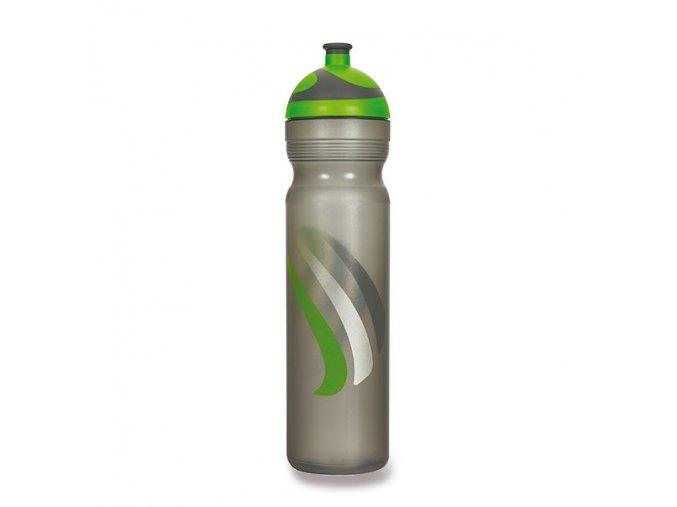 zdrava lahev bike zelena 1l
