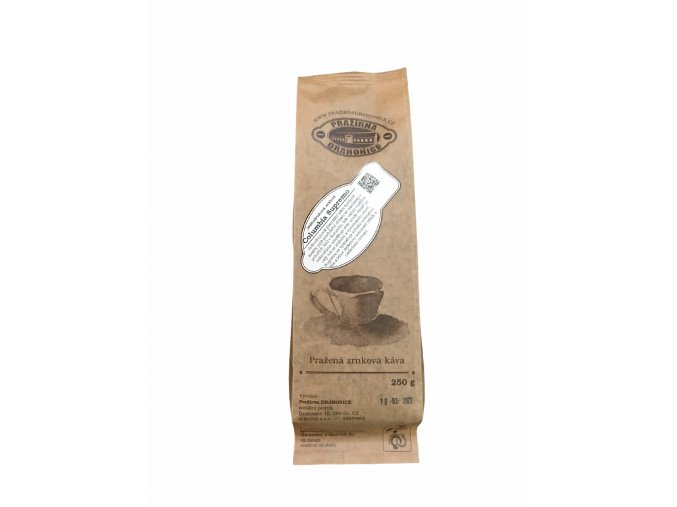 kava columbia supremo drahonice