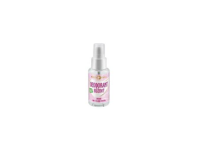 purity vision ruzovy deodorant 50ml