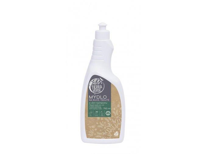 tekute mydlo na ruce rozmaryn lahev 750 ml
