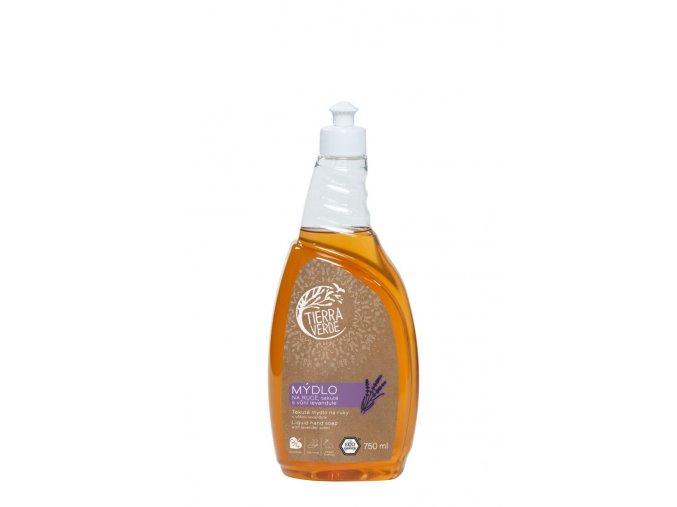 tekute mydlo na ruce levandule lahev 750 ml