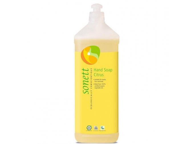 sonett tekute mydlo na ruce citrus 1l
