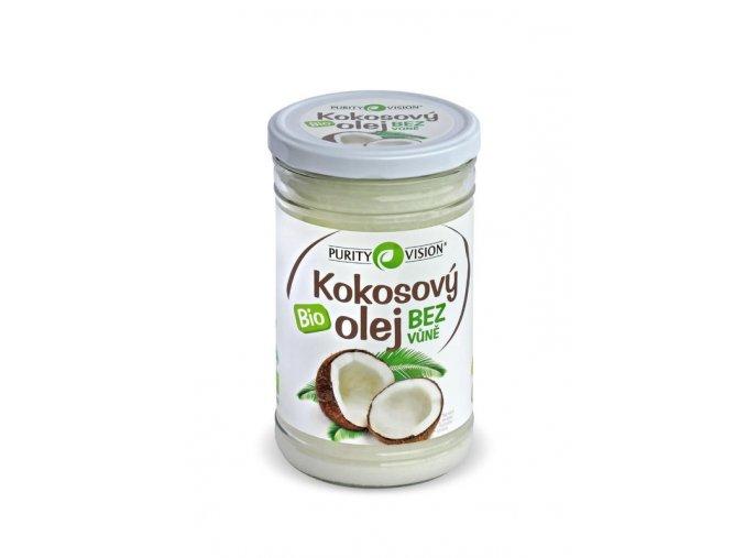 Purity Vision kokosový olej BIO bez vůně 900ml