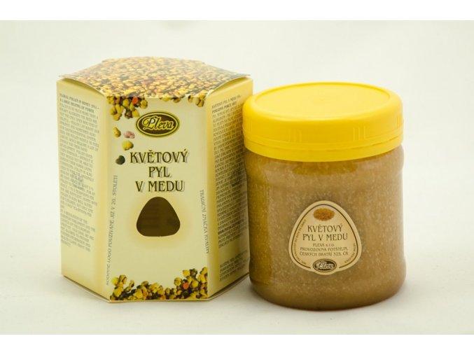 pleva kvetovy pyl v medu