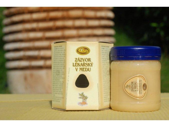Pleva Zázvor lékařský v medu 250g