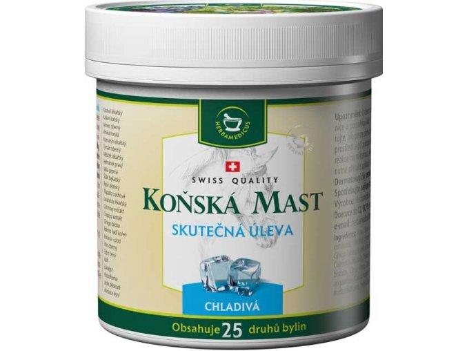 Herbamedicus Koňská mast chladivá 250ml
