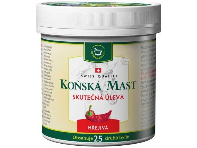 Herbamedicus Koňská mast hřejivá 250ml