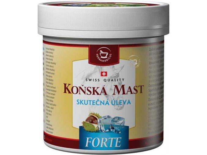 Herbamedicus Koňská mast forte chladivá 250ml