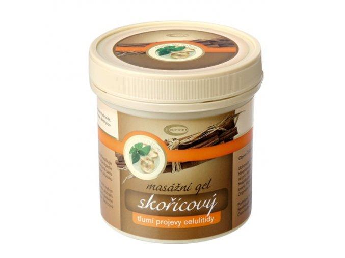 Topvet Skořicový masážní gel 250ml