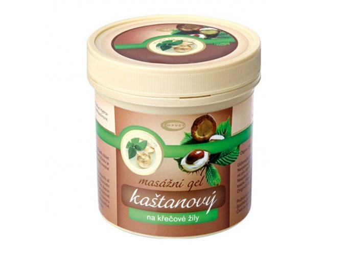 Topvet Kaštanový masážní gel 250ml