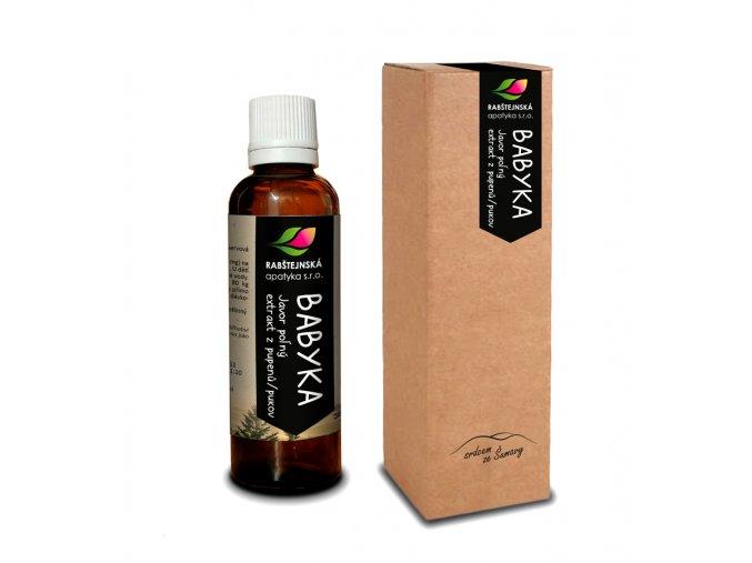 Rapatyka Babyka (javor babyka) - Extrakt z pupenů 50ml (gemmoterapie)