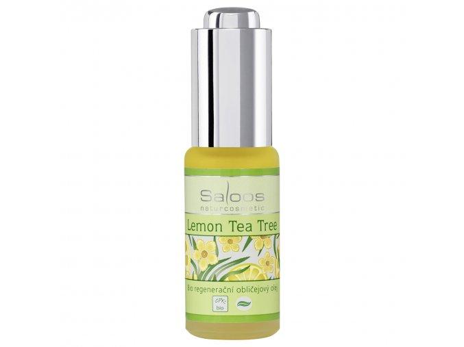 regeneracni oblicejovy olejlemon tea tree 20 ml
