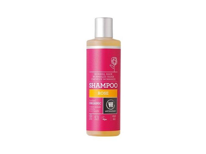 Urtekram Šampón růžový na normální vlasy BIO 250ml