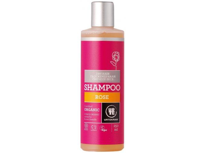Urtekram Šampon růžový na suché vlasy BIO 250ml