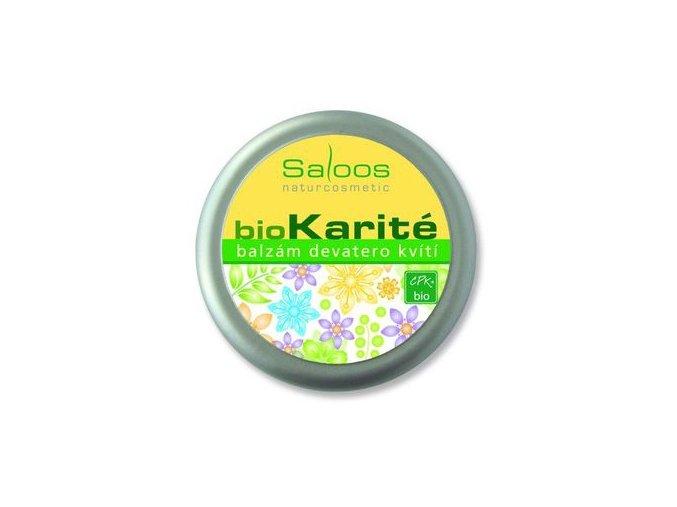 Saloos BIO karité balzám Devatero kvítí 19ml