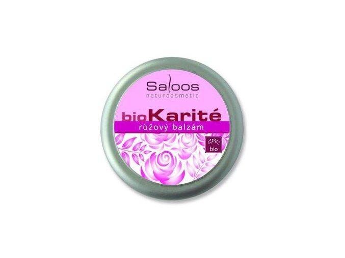 Saloos BIO karité Růžový balzám 19ml