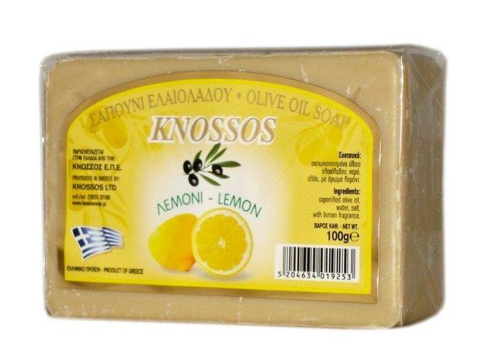 Knossos Olivové mýdlo Citron 100g
