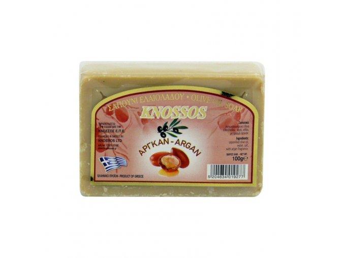 knossos olivove mydlo argan