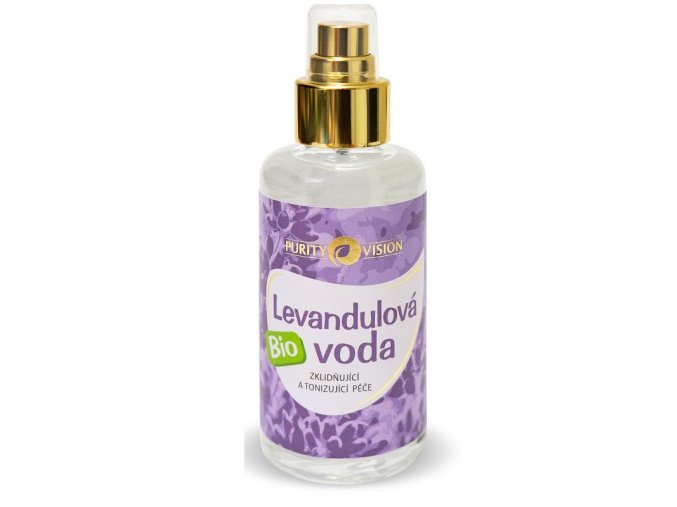Purity Vision Levandulová voda BIO 100ml