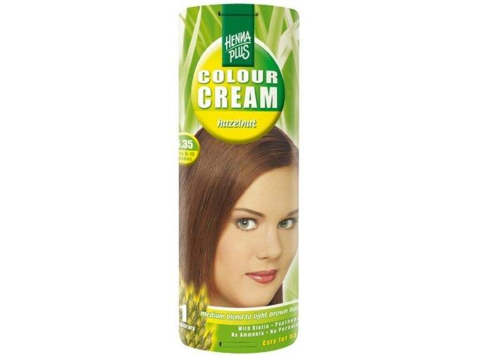 HennaPlus přírodní barva na vlasy krémová oříšková 6.35 60ml