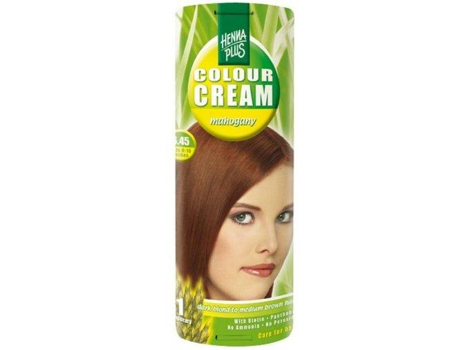 HennaPlus přírodní barva na vlasy krémová mahagon 6.45 60ml